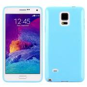 SAMSUNG GALAXY NOTE 4 bag cover lyseblå Mobiltelefon tilbehør