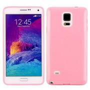 SAMSUNG GALAXY NOTE 4 bag cover pink Mobiltelefon tilbehør