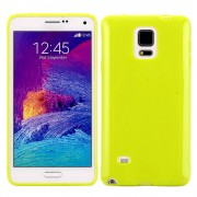 SAMSUNG GALAXY NOTE 4 bag cover grøn Mobiltelefon tilbehør