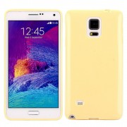 SAMSUNG GALAXY NOTE 4 bag cover lysegul Mobiltelefon tilbehør