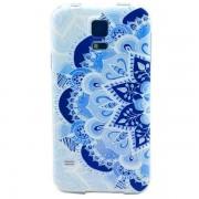 SAMSUNG GALAXY s5 bag cover med mønster Mobiltelefon tilbehør