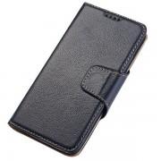 SAMSUNG GALAXY S6 edge business læder pung cover blå, Mobiltelefon tilbehør