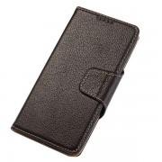 SAMSUNG GALAXY S6 edge business læder pung cover moccabrun, Mobiltelefon tilbehør