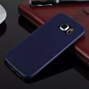 SAMSUNG GALAXY S6 edge bag cover i klassisk look mørkeblå, Mobiltelefon tilbehør
