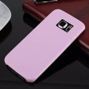 SAMSUNG GALAXY S6 edge bag cover i klassisk look pink, Mobiltelefon tilbehør
