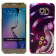 SAMSUNG GALAXY S6 ultra tynd bag cover med mønster, 2 Mobiltelefon tilbehør