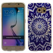 SAMSUNG GALAXY S6 ultra tynd bag cover med mønster, 4 Mobiltelefon tilbehør
