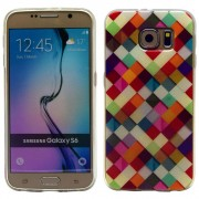 SAMSUNG GALAXY S6 ultra tynd bag cover med mønster, 7 Mobiltelefon tilbehør