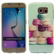 SAMSUNG GALAXY S6 ultra tynd bag cover med mønster, 14 Mobiltelefon tilbehør