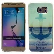 SAMSUNG GALAXY S6 ultra tynd bag cover med mønster, 16 Mobiltelefon tilbehør