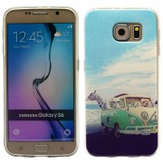 SAMSUNG GALAXY S6 ultra tynd bag cover med mønster, 18 Mobiltelefon tilbehør