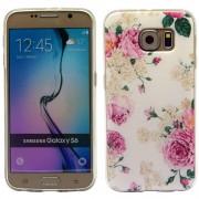 SAMSUNG GALAXY S6 ultra tynd bag cover med mønster, 19 Mobiltelefon tilbehør