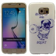 SAMSUNG GALAXY S6 ultra tynd bag cover med mønster, 20 Mobiltelefon tilbehør