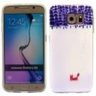 SAMSUNG GALAXY S6 ultra tynd bag cover med mønster, 21 Mobiltelefon tilbehør
