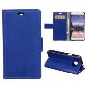 SAMSUNG GALAXY S6 ACTIVE læder cover med kort holder Mobiltelefon tilbehør