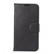 SAMSUNG GALAXY S6 edge læder cover med kort holder Mobiltelefon tilbehør