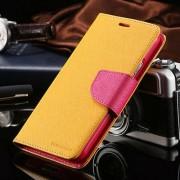 SAMSUNG GALAXY S5 mercury canvas læder pung cover Mobiltelefon tilbehør