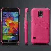 SAMSUNG GALAXY S5 læder bag cover med kort holder Mobiltelefon tilbehør