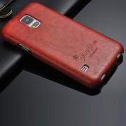 SAMSUNG GALAXY S5 oil wax læder cover  Mobiltelefon tilbehør