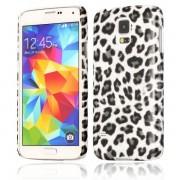 SAMSUNG GALAXY S5 bag cover med dot mønster Mobiltelefon tilbehør
