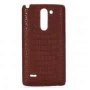 LG G3 STYLUS ægte læder bag cover Mobiltelefon tilbehør
