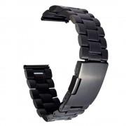 LG G WATCH R urrem i rustfri stål sort Smartwatch tilbehør