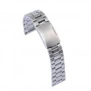 LG G WATCH R urrem i rustfri stål sølv Smartwatch tilbehør