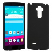 LG G4 PRO / NOTE 4 Matte Hard Case bag cover sort Mobiltelefon tilbehør