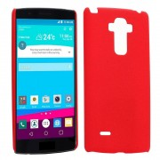 LG G4 PRO / NOTE 4 Matte Hard Case bag cover rød Mobiltelefon tilbehør