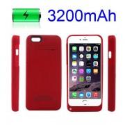 IPHONE 6 / 6S batteri cover rød Mobiltelefon tilbehør