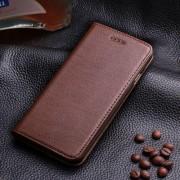 IPHONE 6 / 6S læder cover med kort holder, moccabrun Mobiltelefon tilbehør