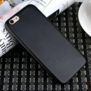 IPHONE 6 / 6S bag cover i klassisk look, sort Mobiltelefon tilbehør