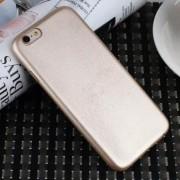 IPHONE 6 / 6S bag cover i klassisk look guld Mobiltelefon tilbehør