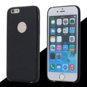 IPHONE 6 / 6S bag cover i klassisk look med logo sort Mobiltelefon tilbehør