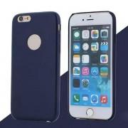 IPHONE 6 / 6S bag cover i klassisk look med logo mørkeblå Mobiltelefon tilbehør