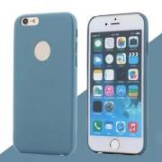 IPHONE 6 / 6S bag cover i klassisk look med logo lyseblå Mobiltelefon tilbehør