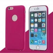 IPHONE 6 / 6S bag cover i klassisk look med logo rosa Mobiltelefon tilbehør