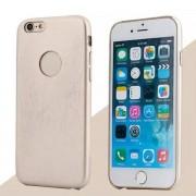 IPHONE 6 / 6S bag cover i klassisk look med logo guld Mobiltelefon tilbehør