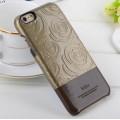 IPHONE 6 / 6S Kajsa 3D rose mønstret bag cover, brun