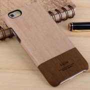 IPHONE 6 / 6S Kajsa wood grain bag cover, brun Mobiltelefon tilbehør