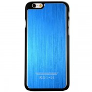 IPHONE 6 / 6S bag cover med børstet aluminium Mobiltelefon tilbehør