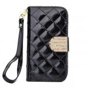 IPHONE 4S mønstret læder pung cover Mobiltelefon tilbehør