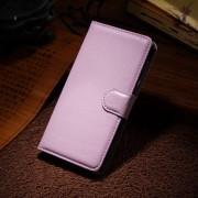 HUAWEI HONOR 6 læder cover med kort lomme, pink Mobiltelefon tilbehør