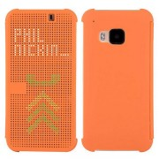 HTC ONE M9 dot view cover, orange Mobiltelefon tilbehør