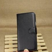 HTC ONE M7 læder pung cover sort Mobiltelefon tilbehør