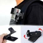 Sort Kamera Rejse Stativ monopod Quick Clip til GoPro Action kamera