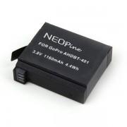 Genopladeligt batteri til GoPro HERO 4 Action kamera