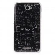 SONY XPERIA E4 IMD bag cover med mønster Mobiltelefon tilbehør