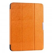 Samsung Galaxy Tab 4 10.1 læder cover, orange Ipad ogTablet tilbehør