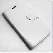 SAMSUNG GALAXY XCOVER 3 læder cover med kort lommer, hvid Mobiltelefon tilbehør